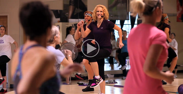 From BodyPump and Zumba to Cycle Core and BodyVive, our classes will help you get in shape and feel your best.  Watch this quick video to see our Group Fitness classes in action!