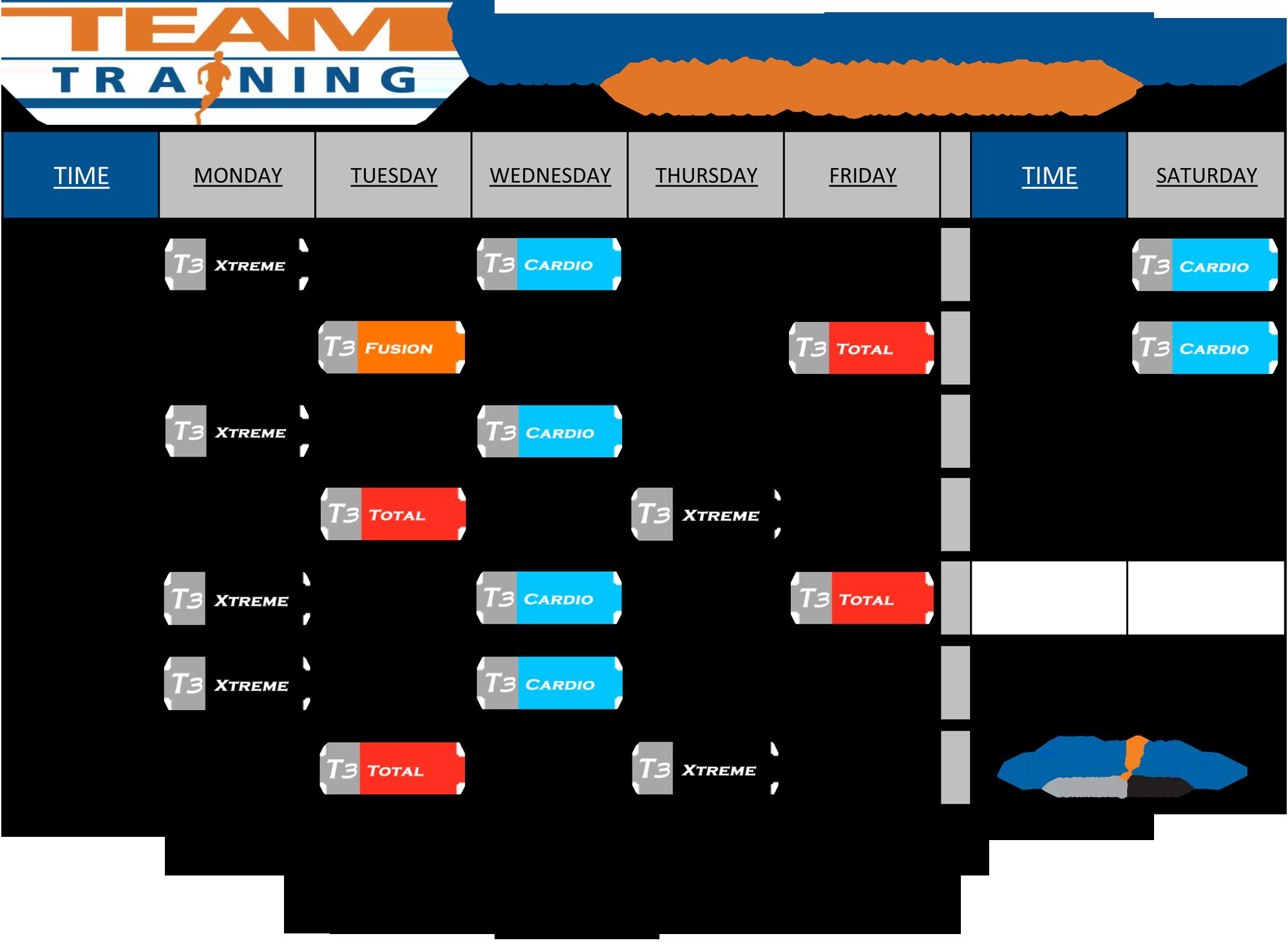 T3 Schedule FALL2017 2