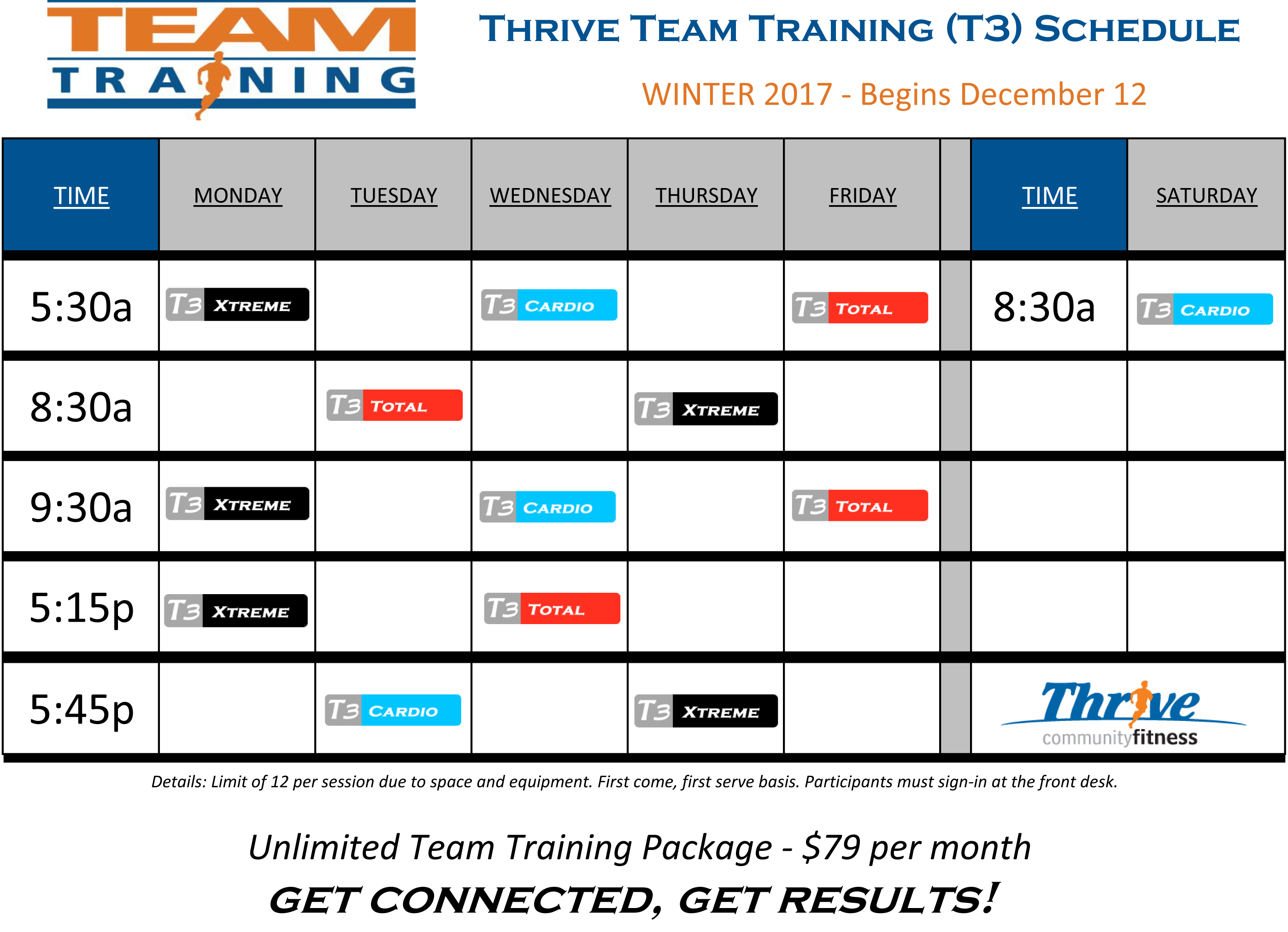 T3 Schedule WINTER2017